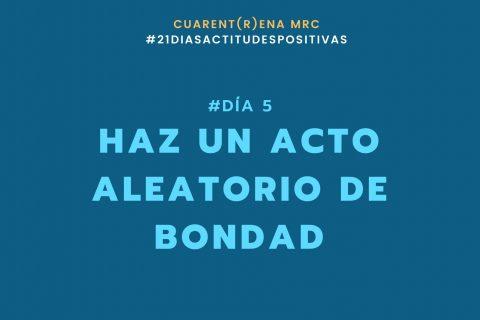 DIA 5 ACTITUDES POSITIVAS