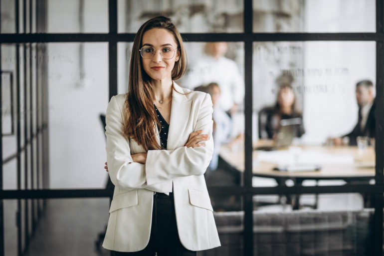 Executive business woman in an office